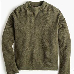 NWT J. Crew Point Sur Botton-Back Sweater